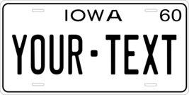 Iowa 1960 Personalized Tag Vehicle Car Auto License Plate - $16.75