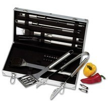 Chefmaster™ 22pc Stainless Steel Barbeque Barbecue BBQ Grill Cookware To... - €46,07 EUR