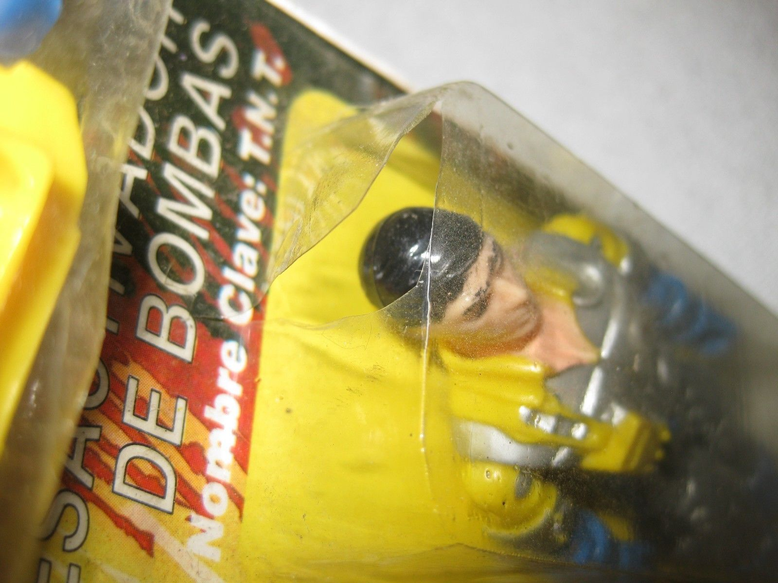 1982 GI JOE Action Figure Plastirama Argentina TNT Desactivador De Bombas READ