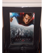 Superman Man Of Steel Matted Poster 16 X 20 - $24.99