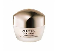 Shiseido Benefiance WrinkleResist 24 Night Cream  50ml 1.7 oz Sealed - $79.99