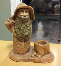 """LORD OF THE RINGS GANDALF  FIGURE - Pipe Ashtray? Ceramic 6"""" tall 5"""" wide - $49.00"""