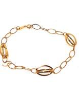 10K Yellow Gold Link Bracelet  7.5 in 1.4 gr CHRISTMAS IN JULY - $91.68