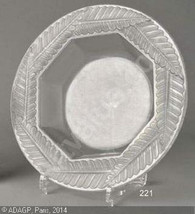 Lalique Art Glass - 1926 Fougères Coupelle - Rare - $270.00