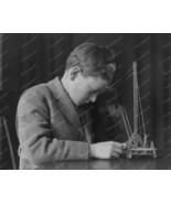 Boy Concentrates On Meccano Set 1920s 8x10 Repr... - $19.98