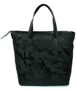 Michael Kors Mens Kent Nylon Navy Black Camouflage Travel Bag Large - $224.98