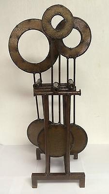 Lawn Metal Pendulum Home or Garden Decor Western Lodge Rustic