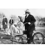Chivalry On A Schwinn Cycle Truck Bicycle!  8x10 Reprint Of Old Photo - $20.13