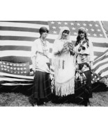 Fortune Telling Gypsies U.S. Flag 1910s Old 8x1... - $20.10