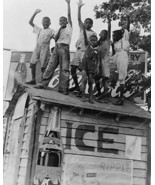 Black Boys On Top Coca Cola Stand 1930s 8x10 Reprint Of Old Photo - $19.98