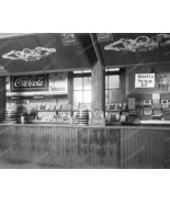 Coca Cola Snack Bar Vintage 8x10 Reprint Of Old... - $19.99