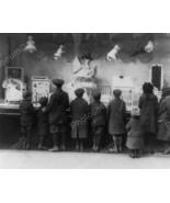 Children Gazing Macy's Toy Window Xmas 8x10 Rep... - $20.63