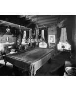 Fancy Old Fashioned Pool Table Vintage Billard ... - $20.10