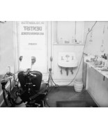 Dentist's Office With Chair Vintage 1900 8x10 R... - $19.99