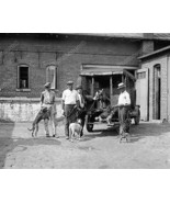 Dog Catchers With Dogs And Truck Vintage 8x10 R... - $20.10