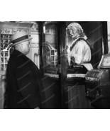 Fortune Teller Machine Grandma Tells All Vintage 8x10 Reprint Of Old Photo - $20.10