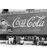 Georgia Main Street Coca Cola Sign 1930s 8x10 Reprint Of Old Photo - $20.10