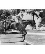 Jackie Kennedy US First Lady Jumps Horse Vintage 1960s Reprint 8x10 Old ... - $19.99