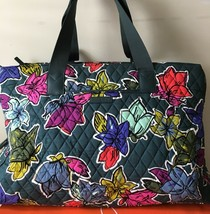 NWT Vera Bradley Triple Compartment Travel Bag FALLING FLOWERS - $63.99