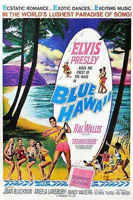 Primary image for Blue Hawaii - 1961 - Movie Poster