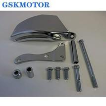 GSKMOTOR Chrome Performance Alternator Bracket for Chevy SBC SB 305 350 Long Wat - $31.10