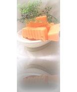 orange chiffon cake  bath soap sample - $2.50