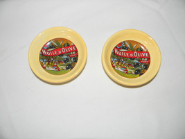 (2) santa barbara ceramic design olive/relish dishes 4 1/2 inch - $3.99