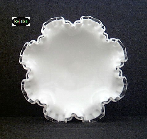 Fenton Silver Crest 7329 Low Footed Compote