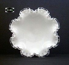 Fenton Silver Crest 7329 Low Footed Compote image 2