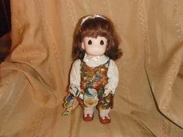 precious moments garden of friends 13 inch doll 1995 october pumpkin wit... - $9.74