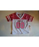 NFL TEAM Arizona Cardinals Pink # 00 Girls Toddler Sizes 12M 18M  2T 3T ... - $18.39