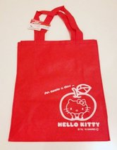 Sanrio Hello Kitty Red Hand Carry Tote Bag - $150,72 MXN