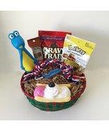 Dog Gift Basket Treats Crewing Toy Holiday Set - $28.95