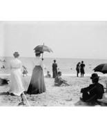 Palm Beach Florida Ladies On Beach 8x10 Reprint... - $19.98