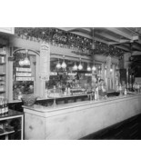 Peoples Drug Store Soda Fountain 1920s 8x10 Rep... - $20.10