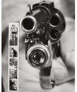 Revolver Hand Gun With Built In Camera 1938 Vintage 8x10 Reprint Of Old ... - $20.10