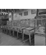 Row Of Bingo Pinball Machines In Arcade 8x10 Re... - $20.10