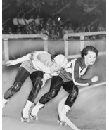 Roller Derby Jolters VS Red Devils 8x10 Reprint Of Old Photo - $20.10