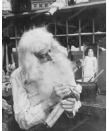 Santa Claus Making A Toy 1900s Vintage 8x10 Rep... - $20.10
