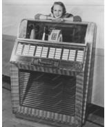 Seeburg Select-O-Matic 100 Jukebox 1950s 8x10 Reprint Of Old Photo - $20.10