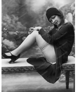 Sexy 1920s Flapper Girl Vintage 8x10 Reprint Of... - $20.10