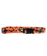 "Medium 1"" Dog Gone Batty Standard Dog Collar 14... - $15.99"
