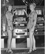 Slot Hostess Pose Bally Medalist Slot Machines Vintage 8x10 Reprint Of O... - $20.10
