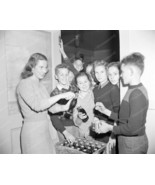 Students Enjoy A Case Of Coca Cola 1946 Vintage 8x10 Reprint Of Old Photo - $20.10