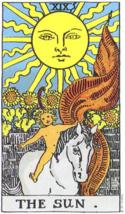 Sun Tarot Oil. For joy and abundance in life. Happy & abundant.  - $24.99