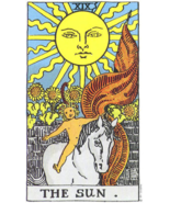 Sun Tarot Oil. For joy and abundance in life. Happy & abundant.  - £19.32 GBP