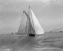 Vanenna Racing Sailboat 1890 Vintage 8x10 Reprint Of Old Photo - $20.20