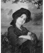 Victorian Lady In Cow Girl Outfit 1900s 8x10 Re... - $20.20
