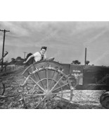 Woman Drives Oliver Tractor 1930s Farm 8x10 Reprint Of Old Photo - $20.20