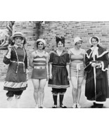 Women Pose In Evolution Of Bathing Suits 8x10 R... - $20.20